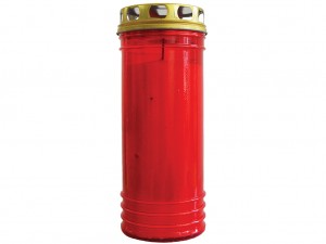 Vela XL Vermelha simples